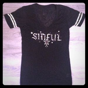 Women's Sinful tee size small